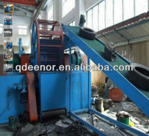 Whole Tyre Shredding Machine Into Tyre Blocks pictures & photos