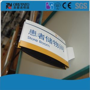 Hospital Aluminium Wall Frame Curved Sign pictures & photos