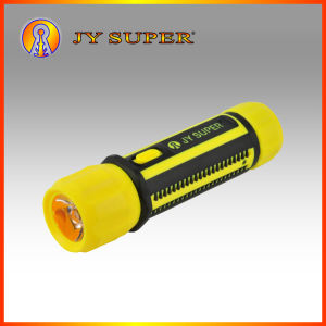 Jy Super 0.8W New Rechargeable LED Flashlight for Emergency (JY-1717)