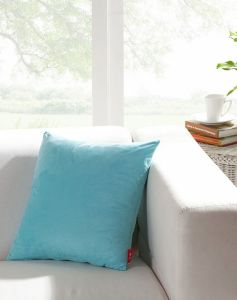 Sofa Square Microfiber Blue Leisure Cushion pictures & photos