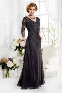 Sweetheart Taffeta Sequins Knee Length Mother of The Bride Dresses (MI 3547)