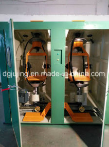 Vertical Double Bobbin Cable Wire Back Twist Stranding Machine LAN Cable Making Machine pictures & photos