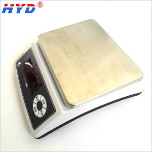 Digital Rechargeable LED/LCD Display Weighing Scale pictures & photos