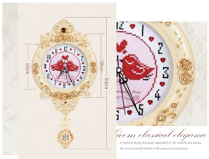 European Creative Wall Clocks Hot Sale Luxury Diamond Clock Wall Clock for Home Wall Decor (AS007) pictures & photos