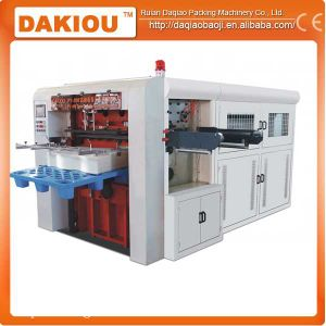 Fast Speed Roll Paper Die Cutting Press Machine pictures & photos