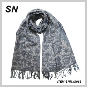100%Acrylic Knitted Winter Scarf Muffler 2014 (SNMJS063) pictures & photos