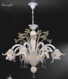 Graceful House Glass Pendant Lighting Chandelier (81130-8) pictures & photos