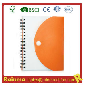 PVC Cover Paper Notebook for Promotional Gift pictures & photos