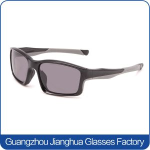 Custom Logo Eye Protective Grey Lens Aperol Sunglasses pictures & photos
