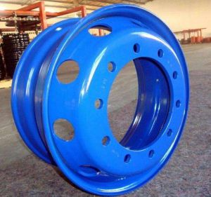 22.5 X 7.5 Tubeless Steel Wheel Rim pictures & photos