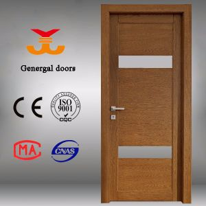 Modern Wooden Doors with Glass pictures & photos