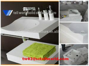 New Design Artificial Stone Bathroom Wash Basin Bathroom Sink Countertop pictures & photos