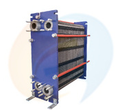 Alfa Laval M6 Replacement Gasket Plate Heat Exchanger 300kw - 800 Kw for Chemical Industry District Heating B60h Series
