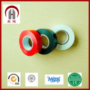 Glossy Surface Colorful Electrical Adhesive PVC Tape pictures & photos