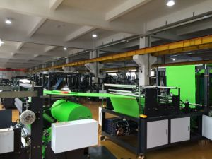 Nonwoven Shopping Bag Making Machine (With High Speed) pictures & photos
