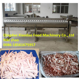 Chicken Feet Peeling Machine/Chicken Feet Paws Peeler pictures & photos
