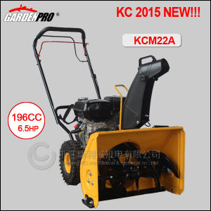 2015 New Sales Promotion Series /Cheap Snow Blower/Snow Thrower /Snow Plow (KCM22A) pictures & photos
