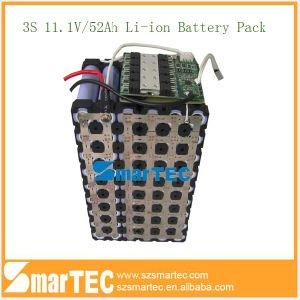 11.1V 50ah Li-ion Battery High Capacity 18650 Battery Pack