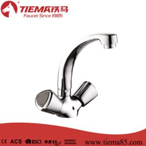Deck-Mounted Brass Kitchen Faucet (ZS64503)