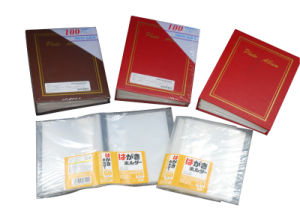 "PP Sheet Album, 120 Photos, 4 X 6"" with Transparent Pocket, Made of PP, Promotional Gift"