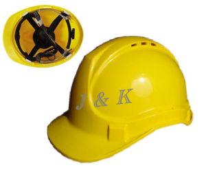UV-Resistant Ploypropylene Safety Helmet (JK11011-Y) pictures & photos