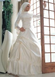 Wedding Dress Muslim Zsm 003