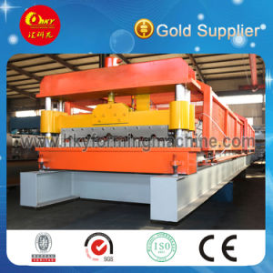 Export Standard Steel Sheet Roof Tile and Wall Panel Roll Forming Making Machine pictures & photos