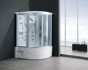 Monalisa High Qualicy Luxury Steam Shower Room with Whirlpool Baths pictures & photos