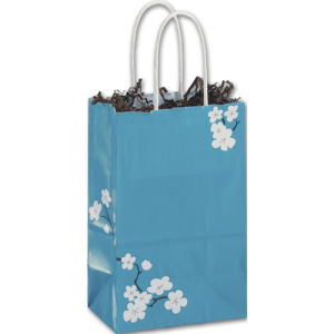 Dollar General Vendor Gift Bags and Small Elegant Swirl Paper Shopper pictures & photos