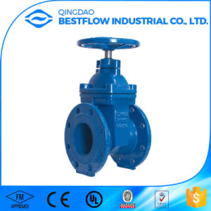 "Ductile Iron Pn16 4"" Water Gate Valve pictures & photos"