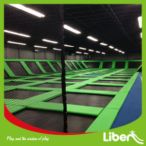 CE Approved Liben Popular Indoor Trampoline Park Bungee Trampoline pictures & photos