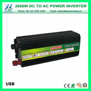 2000W Solar Inverter DC12V/24V/48V AC Power Converter (QW-M2000) pictures & photos