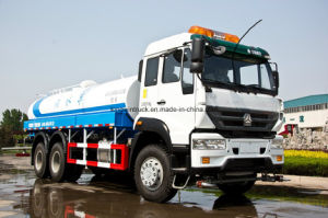 Sinotruk Brand 20tons Water Tank Truck with 6X4 pictures & photos