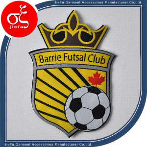 Custom Sport Football Party Logo Woven Patch Iron on Patches pictures & photos