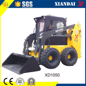 75HP Multifunctional Chinese Bobcat Skid Steer Loader with CE Certificate for Sale pictures & photos