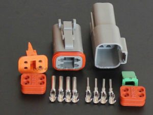 Dt Series 4pole Automotive Connectors with Plugs and Terminals pictures & photos