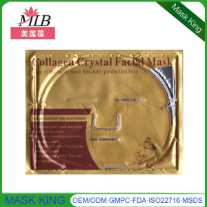 Private Label Skin Care Products Gold Collagen Facial Mask pictures & photos