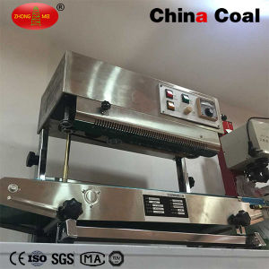 Sf-150W Vertical Continuous Band Sealer Plastic Bag Packaging Machine pictures & photos