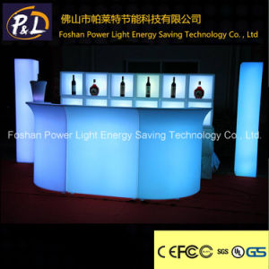Plastic Bar Furniture LED Lighted Counter pictures & photos