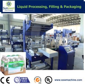 Automatic Film Shrink Wrapper for Bottled Water Industry pictures & photos