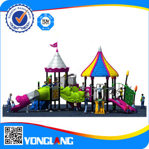 2014 PVC Coated Pipe Kids Play Park Equipment with Galvanized Steel Material pictures & photos