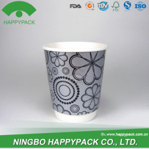 Double Wall Paper Cup with Customized Logo (4oz 8oz 12oz 16oz 20oz) pictures & photos