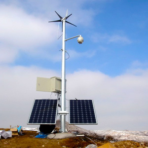 Wind Turbine 400W Small Wind Turbine Generator, Wind Solar Monitoring System (MINI-5)