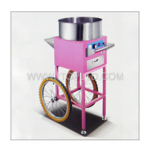 Commercial Stainless Steel Cotton Candy Maker Machine with Cart (CDM) pictures & photos