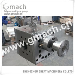 High Effiency Polymer Hot Melt Gear Pump for Polymer Extrusion Plant pictures & photos