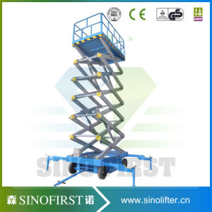 Hot Sales Trailing Mobile Scissor Lift 4m- 20m Hydraulic Scissor Lift with Ce pictures & photos