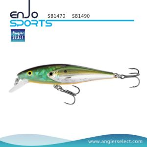 Shallow School Fish Fishing Tackle Lure with Vmc Treble Hooks (SB1490) pictures & photos
