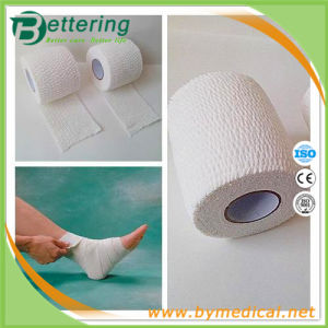 Easy Hand Tear Cotton Elastic Adhesive Light Wrap Bandage pictures & photos