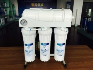400GPD Commercial RO Purifier with Steel Frame and Pressure Gauge pictures & photos