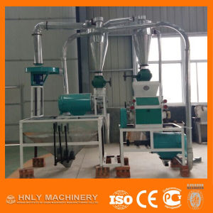Home Use Mini Corn Mill, Small Scale Maize Milling Machine pictures & photos